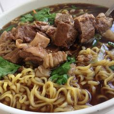 Thai noodle with beef