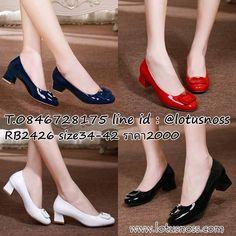 รองเท้าหนังแก้ว, รองเท้าหนังสีแดง, รองเท้าหนังแก้วคัทชูหุ้มส้น, รองเท้าแฟชั่น, รองเท้าเพื่อสุขภาพ