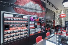 Make Up For Ever opened its first global flagship this past February on Lexington Avenue in New York. (more: http://www.vmsd.com/content/make-ever-opens-first-global-flagship) Photography: Brett Beyer, New York