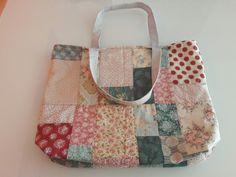 Bolsa con telas Tilda