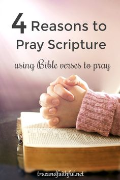 Praying scripture will give you a deeper, stronger prayer life. Learn to pray the Bible with this example of praying through Psalm 30.