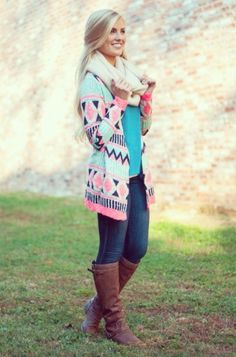 Love the pink and blue