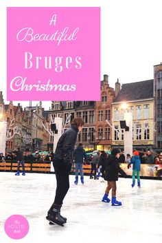 A peek at the gorgeous Belgium city that took my breath away this Christmas. If you're looking for a gorgeous European christmas holiday visit Bruges! Bruges Christmas Market, Christmas Markets, Christmas Travel, Visit Belgium, Eurotrip, Hostel, Brussels, Waffle, Big Ben