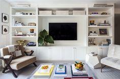 Living Room in New York, NY by Kapito Muller Interiors
