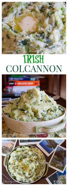 Colcannon - classic Irish dish