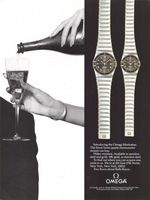 Omega Watch Robert Wagner 1982 Ad Picture