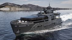 Arcadia Yachts Has Unveiled the Stunning Arcadia A100+.Looks like a navy vessel.Not my idea of beauty