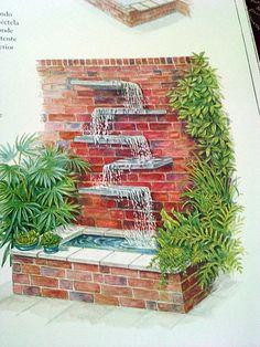 Cascadas y fuentes para el jardín: recopilación de fotografías - Foro de InfoJardín