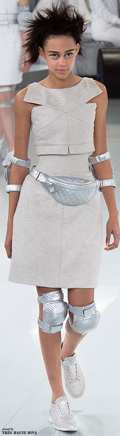 Chanel Spring 2014 Couture http://www.vogue.com/fashion-week/  The House of Beccaria