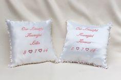 Sarah Elizabeth, Bellisima, Bed Pillows, Pillow Cases, Handmade, Pillows, Craft, Arm Work, Hand Made
