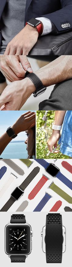 The LABB's (Loopless and Buckleless Band) design really challenges the status quo, its intricate aesthetic grabs the eye and makes one want to constantly engage with it, its anti-buckle fastening design holds great promise, an edgy yet comfortable strap for the Apple Watch, ... READ MORE at Yanko Design !