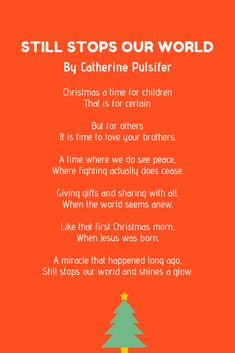 Christmas poems are perfect to share with your family and friends. And to help you out, here are over 20 examples of Christmas poems for kids. Advent For Kids, Advent Calendars For Kids, Christmas Poems, Xmas, Love You, Peace, Funny, Design, Te Amo