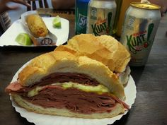 Brazilian Mortadela Sandwich famous even Anthony Bourdain recommends to try it! #FoodieTravels #ABRecipes #Brazil