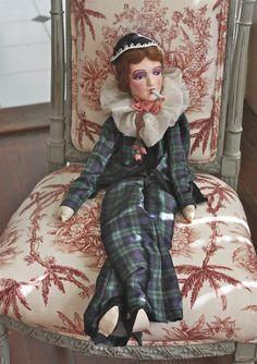 1920's  Anita style smoker doll