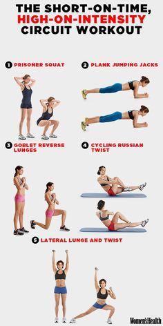 Snelle, effectieve workout.