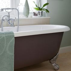 mint green bathroom with roll top bath bathroom decorating ideal home housetohome