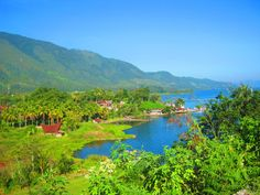 Lake Toba or Danau Toba as locally known is the largest volcanic lake in the world and a supervolcano located in Northern Sumatra in Indonesia. Raja Ampat Islands, Lake Toba, Kuta Beach, Most Visited National Parks, West Papua, Above The Clouds, Natural Scenery, Beautiful Landscapes, The Good Place