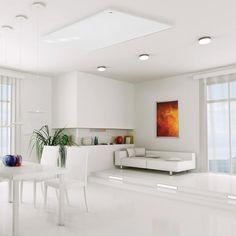 Die neue Designheizung! Ob Neubau, Sanierung oder Zusatzheizung: easyTherm ist mehr als eine Heizung - easyTherm ist Design, easyTherm ist Kompakt, easyTherm ist Wohlfühlen. Alcove, Modern, Bathtub, Bathroom, New Construction, Infrared Heater, Homes, Standing Bath, Washroom