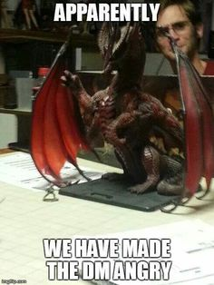RPG Memes are great images that are both funny and remind us of how much fun RPG games are. Check out our RPG Meme Gallery. Dungeons And Dragons Memes, Dungeons And Dragons Homebrew, Rpg Dice, Rpg Wallpaper, Memes Fr, Dnd Stories, Dnd Funny, Hilarious, Stupid Funny