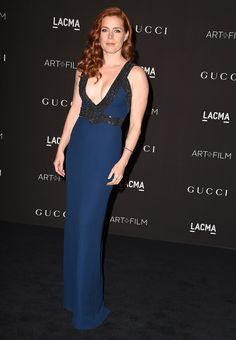 Amy Adams in Gucci.....At the LACMA Art + Film Gala, November 2014