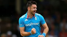 James Anderson averages at an economy rate of when bowling in the first ten overs of ODIs over the last couple of years James Anderson, Bowling, Cricket, Legends, Couples, Mens Tops, Cricket Sport, Couple