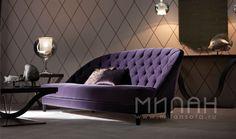 Диван DALILA OPERA CONTEMPORARY купить в Новосибирске. Милан мебель Италии.