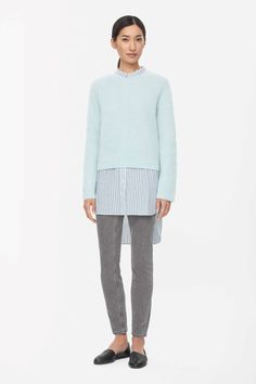 COS | Cropped mohair jumper