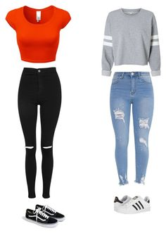 """Ok I'm done now"" by maliyah-waldron on Polyvore featuring Topshop, J.Crew and adidas"