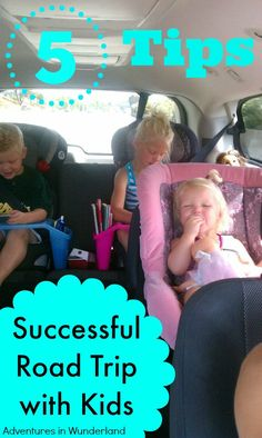 Travel with kids? You must read these 5 tips for a successful road tip with kids!