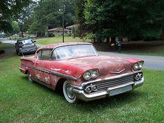 Chevrolet : Impala Coupe 1958 Chevrolet Impala Spo - http://www.legendaryfinds.com/chevrolet-impala-coupe-1958-chevrolet-impala-spo/