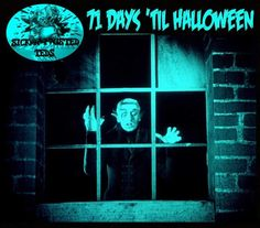 Halloween Countdown, Horror, Things To Come, Neon Signs, Movie Posters, Art, Art Background, Film Poster, Kunst