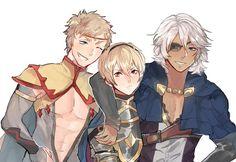 Team Leo: Odin, Leo, Niles | Fire Emblem Fates