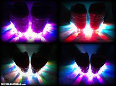 Evolved Footwear CUSTOM LIGHT UP SHOES BLOG c93c6d475