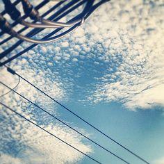 秋が近づいてきた感じ #sky #cloud #sora #空 #雲 #そら #kyoto - @comfy- #webstagram
