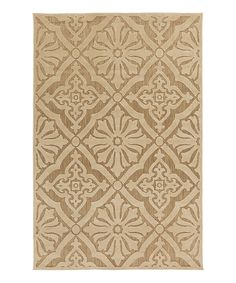 Look at this Gold Portera Rug on #zulily today!