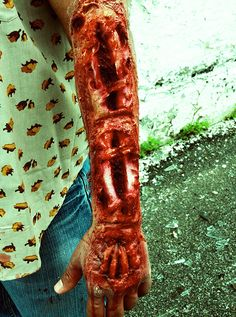 A Zombie Victim | 31 Halloween Costumes That Will Actually Scare Your Friends