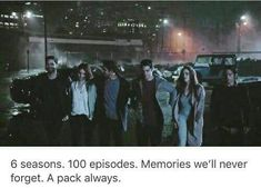 I'm gonna miss them so much. I wish it wasn't ending.
