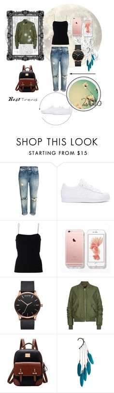 """""""Best Trend 😎 2016"""" by dianna16 ❤ liked on Polyvore featuring adidas Originals, T By Alexander Wang, MVMT, Topshop and Anni Jürgenson"""