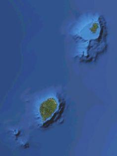 Satellite images from the islands of São Tomé e Príncipe