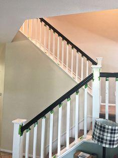 Best How To Paint Stair Railings Painted Stair Railings 400 x 300