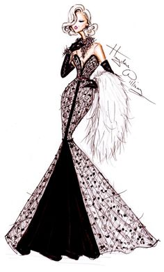 Wishing all a Happy New Year with 2012 Couture by Hayden Williams