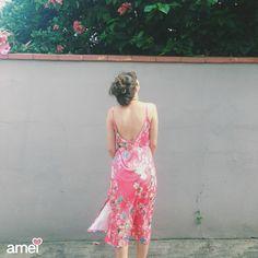 Todo leve e lindo  #lojaamei #etiquetaamei #vestido #floral #verao #sol #praia