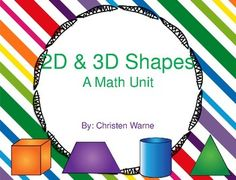 This product includes a variety of practice pages for young children learning about 2D and 3D shapes!Pages include:-definition and sorting cards both in color and black & white-2D and 3D shapes Emergent Reader-Interactive notebook-Cut and paste activities-Sorting mats-Coloring pages-Student flip book-Labeling pages (can be used as an assessment!)-Write the room cards- both color and black & white-Student created class book