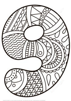 Toddler Coloring Books New Pattern Number 9 Coloring Pages for Kids Education Printables Free Wuppsy Snake Coloring Pages, Emoji Coloring Pages, Spring Coloring Pages, Coloring Pages For Girls, Disney Coloring Pages, Free Printable Coloring Pages, Coloring Sheets, Coloring Books, Camping Coloring Pages