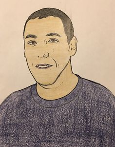 """Adam Sandler DOB 9/9/66 Actor best known for """"Happy Gilmore"""" Wedding Singer"""" & """"Grown Ups(1&2)""""  https://en.m.wikipedia.org/wiki/Adam_Sandler   NOTE: This is NOT a drawing of mine, nor was this a photo taken by me. These are pics I find online, print out & color"""