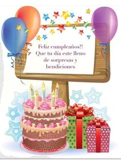 Write name on white forest birthday cak Happy Birthday Wishes Spanish, Happy Birthday Celebration, Happy Birthday Flower, Birthday Cake With Flowers, Happy Birthday Pictures, Happy Birthday Sister, Happy Birthday Messages, Best Friend Birthday, Cool Birthday Cakes
