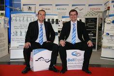 Die Geschäftsführer DI(FH) Günther Lugauer und Martin Hinterlehner auf der Vienna TEC 2012