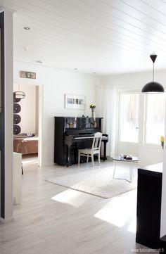 kaunis olohuone Design-Talo Piippola
