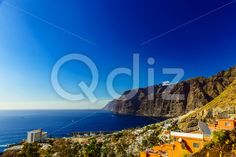 Qdiz Stock Photos Coast of Ocean with Buildings