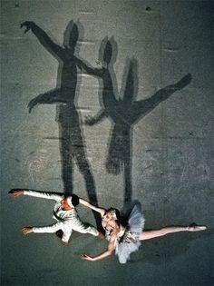 Shadows    Paris Opera Ballet in La Bayadere...cool pic!!